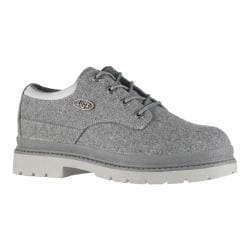 Men's Lugz Drifter Lo Peacoat Charcoal/Grey Textile