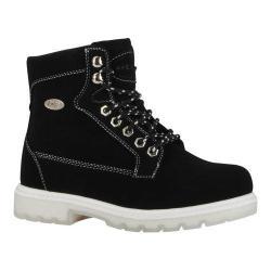 Women's Lugz Regiment Hi TL Ankle Boot Black/White/Clear Durabrush