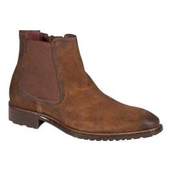 Men's Mezlan Berne Chelsea Boot Tan Suede