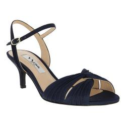 Women's Nina Camille New Navy Luster Satin
