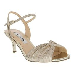 Women's Nina Camille Taupe Reflective Suedette