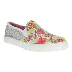 Girls' Nina Engie Slip-On Sneaker Multi Cotton Canvas