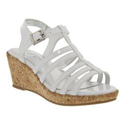 Girls' Nina Florence Wedge Sandal White Patent