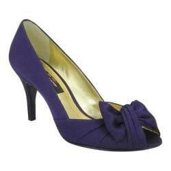 Women's Nina Forbes Grape Luster Satin