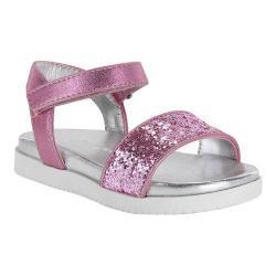 Girls' Nina Gazmin Sandal Light Pink Chunky Glitter/Metallic