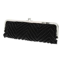 Women's Nina Helaine Clutch Black Beaded