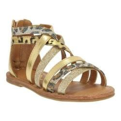 Girls' Nina Honey Sandal Gold Metallic/Baby Glitter