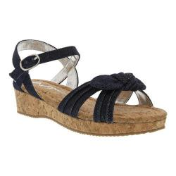 Girls' Nina Laurel Sandal Indigo Denim