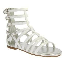 Girls' Nina Octavia Gladiator Sandal White Patent