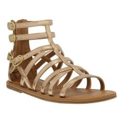 Girls' Nina Pandora Gladiator Sandal Rose Gold Metallic