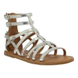 Girls' Nina Pandora Gladiator Sandal Silver Metallic