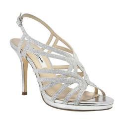 Women's Nina Raisa Sandal Silver Glitter