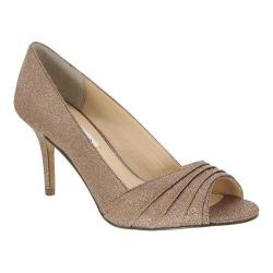 Women's Nina Vesta Peep-Toe Pump Bronze Wonderland
