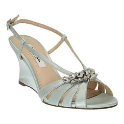 Women's Nina Viani Sandal Brook Green Crystal Satin