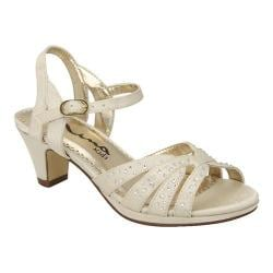 Girls' Nina Wendy Sandal Ivory Satin
