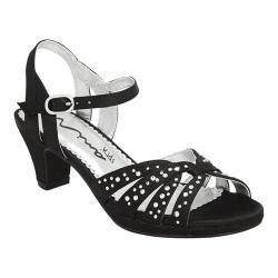Girls' Nina Wendy Sandal Black Satin