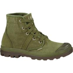Men's Palladium Pallabrouse Dark Olive/Dk Gum