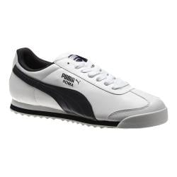 Men's PUMA Roma Basic White/New Navy