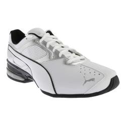 Men's PUMA Tazon 6 Running Shoe White/Puma Silver/Black