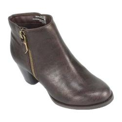 Women's Rialto Chandelier Ankle Boot Cappuccino Smooth Synthetic
