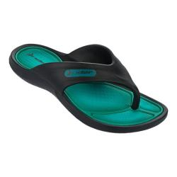 Boys' Rider Cape VII Sandal Black/Green