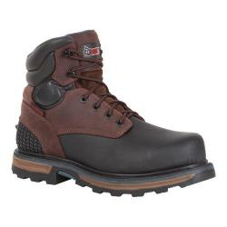 Men's Rocky 6in Elements Block Steel Toe RKYK090 Boot Dark Brown