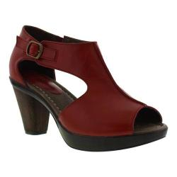 Women's Sanita Clogs Bliss Begonia Sandal Red