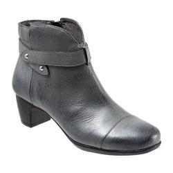 Women's SoftWalk Ivanhoe Pewter Antique Metallic Leather