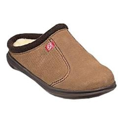 Men's Spenco Supreme Slide Slipper Warm Brown Suede