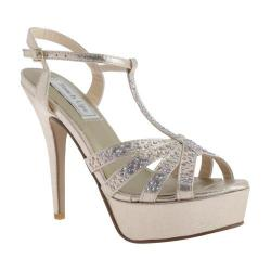 Women's Touch Ups April T-Strap Champagne Shimmer