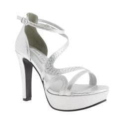 Women's Touch Ups Breeze Platform Sandal Silver Shimmer