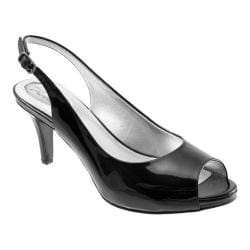 Women's Trotters Omega Black Patent Leather