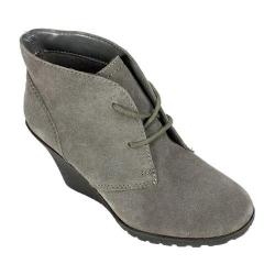 Women's White Mountain Icon Charcoal Suede 18568530