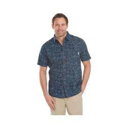 Men's Woolrich Reissued Printed Shirt Deep Indigo