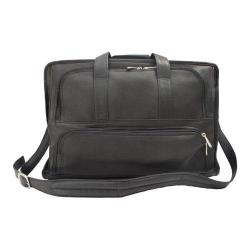 Piel Leather Half Moon Portfolio 9190 Black