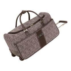 Women's Nine West Naia Wheeled City Bag Plum/Lilac