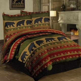 Bear Walk Comforter Set