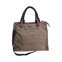 Laurex Messenger Tote Bag Khaki