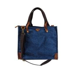 Laurex Messenger Tote Bag Navy