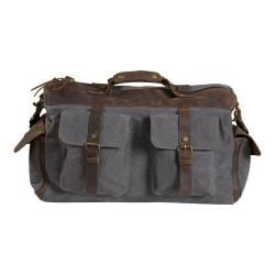 Laurex Western Style Travel Duffel Bag Gray