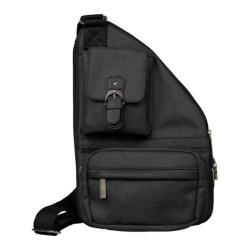 Women's The Sacs Collection Mini Metro Expandable Cross Body Bag Black