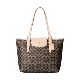 Coach Signature Ward Tote