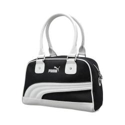 Women's PUMA Foundation Handbag Black/White