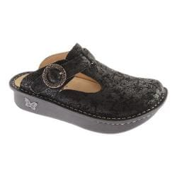 Women's Alegria by PG Lite Classic Clog Desert Black Leather