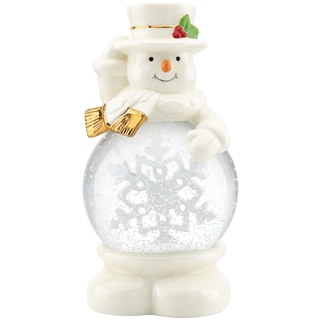 Lenox Let it Snow Snowman Snowglobe