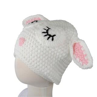 Crummy Bunny White Lamb Hat