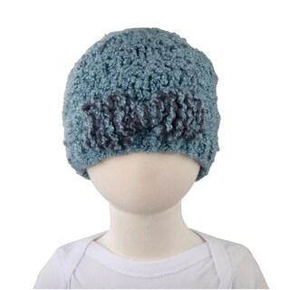 Crummy Bunny Blue Knit Hat