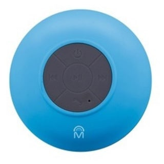 Mental Beats Blue Bluetooth Wireless Shower Speaker
