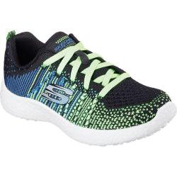 Boys' Skechers Burst In the Mix Sneaker Black/Multi