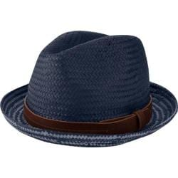 Men's Ben Sherman Plaited Brim Trilby Staples Navy